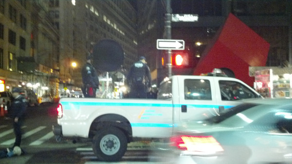 NYPD Equipped With Sound Cannons