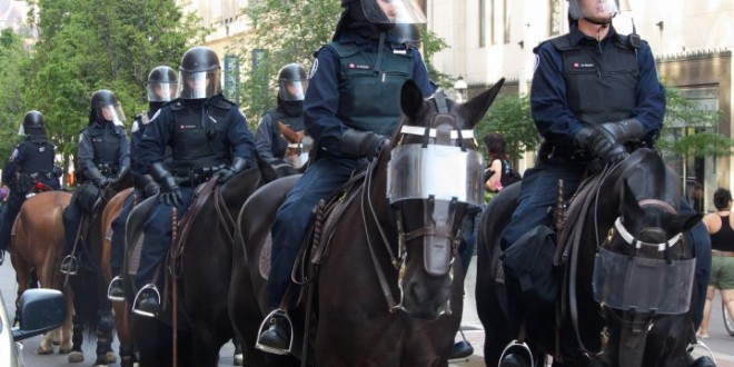 Woman Injured by Horse at Occupy Philadelphia