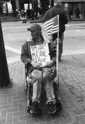 I am a Homeless Veteran